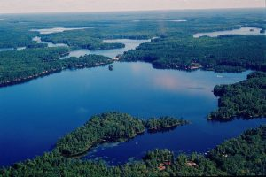 manitowish-waters-aerial