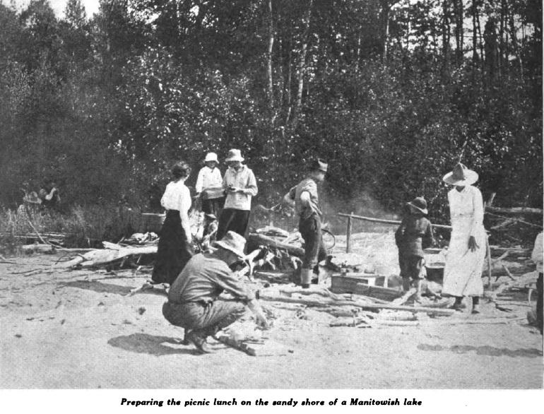 Island-manitowish-picnic